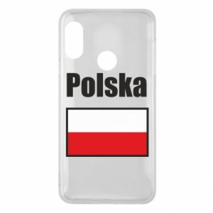 Etui na Mi A2 Lite Polska i flaga