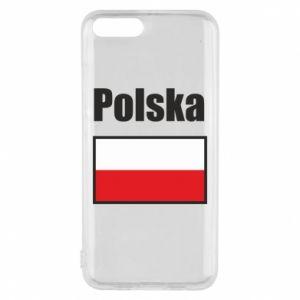Etui na Xiaomi Mi6 Polska i flaga