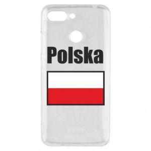 Etui na Xiaomi Redmi 6 Polska i flaga