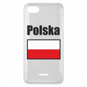 Etui na Xiaomi Redmi 6A Polska i flaga