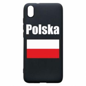 Etui na Xiaomi Redmi 7A Polska i flaga
