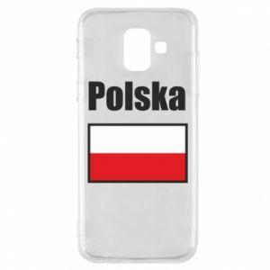 Etui na Samsung A6 2018 Polska i flaga