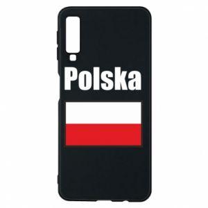 Etui na Samsung A7 2018 Polska i flaga