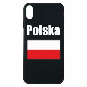 Etui na iPhone Xs Max Polska i flaga