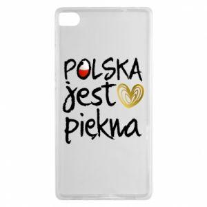 Etui na Huawei P8 Polska jest piękna