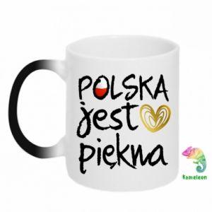 Kubek-magiczny Polska jest piękna