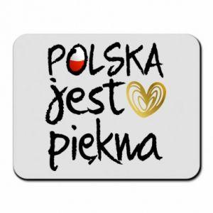 Podkładka pod mysz Polska jest piękna