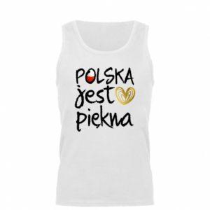Koszulka męska Polska jest piękna