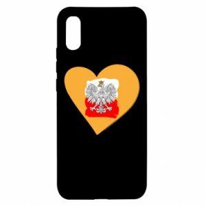 Etui na Xiaomi Redmi 9a Polska, kocham cię