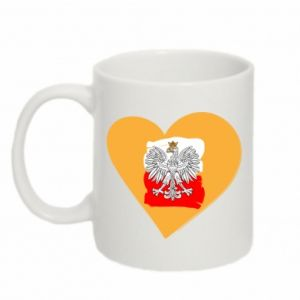 Kubek 330ml Polska, kocham cię