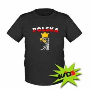Koszulka dziecięca Polska,orzeł