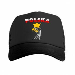 Czapka trucker Polska,orzeł