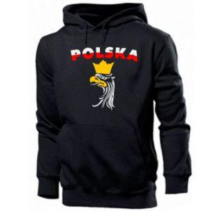 Bluza z kapturem męska Polska,orzeł