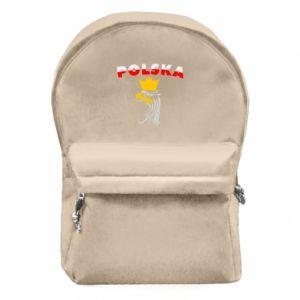 Plecak z przednią kieszenią Polska,orzeł