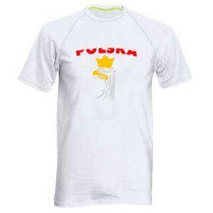 Koszulka sportowa męska Polska,orzeł