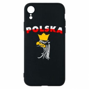 Etui na iPhone XR Polska,orzeł