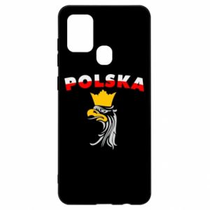 Etui na Samsung A21s Polska,orzeł