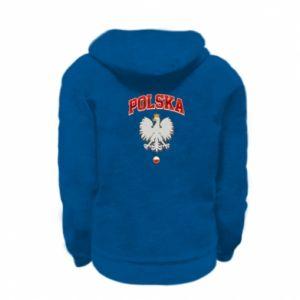 Bluza na zamek dziecięca Polska orzeł
