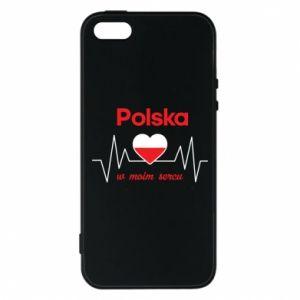 Etui na iPhone 5/5S/SE Polska w moim sercu