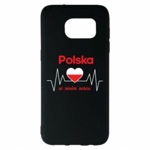 Etui na Samsung S7 EDGE Polska w moim sercu