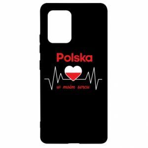 Etui na Samsung S10 Lite Polska w moim sercu