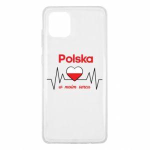 Etui na Samsung Note 10 Lite Polska w moim sercu