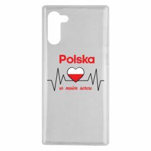 Etui na Samsung Note 10 Polska w moim sercu