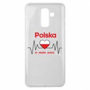 Etui na Samsung J8 2018 Polska w moim sercu