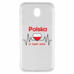 Etui na Samsung J7 2017 Polska w moim sercu