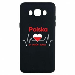 Etui na Samsung J7 2016 Polska w moim sercu