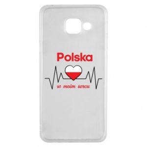 Etui na Samsung A3 2016 Polska w moim sercu