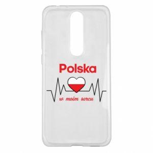 Etui na Nokia 5.1 Plus Polska w moim sercu