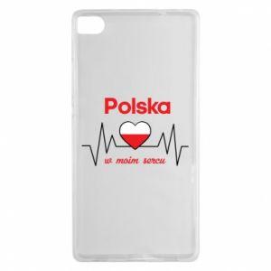 Etui na Huawei P8 Polska w moim sercu