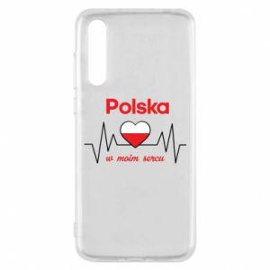 Etui na Huawei P20 Pro Polska w moim sercu
