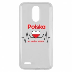 Etui na Lg K10 2017 Polska w moim sercu