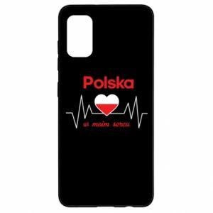 Etui na Samsung A41 Polska w moim sercu