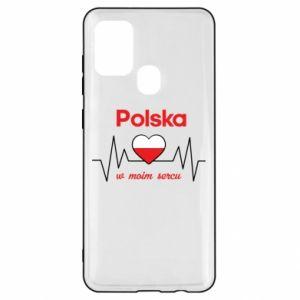 Etui na Samsung A21s Polska w moim sercu