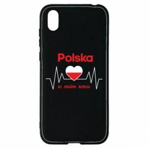 Etui na Huawei Y5 2019 Polska w moim sercu