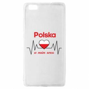 Etui na Huawei P 8 Lite Polska w moim sercu