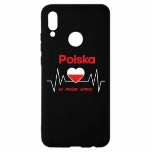 Etui na Huawei P Smart 2019 Polska w moim sercu