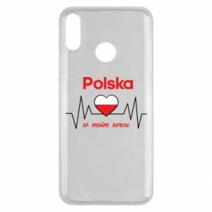 Etui na Huawei Y9 2019 Polska w moim sercu