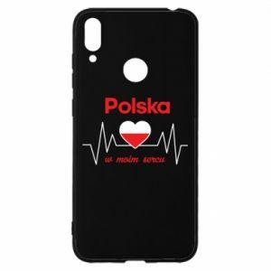 Etui na Huawei Y7 2019 Polska w moim sercu