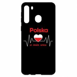 Etui na Samsung A21 Polska w moim sercu