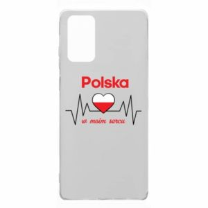Etui na Samsung Note 20 Polska w moim sercu