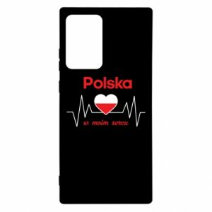 Etui na Samsung Note 20 Ultra Polska w moim sercu