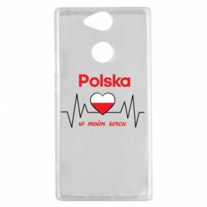 Etui na Sony Xperia XA2 Polska w moim sercu