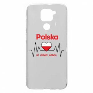 Etui na Xiaomi Redmi Note 9/Redmi 10X Polska w moim sercu