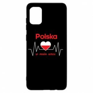 Etui na Samsung A31 Polska w moim sercu