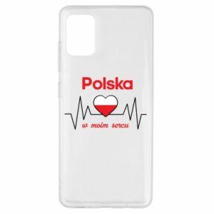 Etui na Samsung A51 Polska w moim sercu