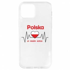 Etui na iPhone 12/12 Pro Polska w moim sercu